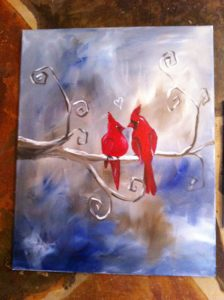Feb 6th- Red Cardinal Solo
