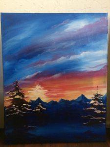 Jan 23rd- Sierra Sunrise