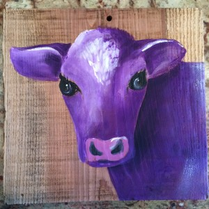May 9th- Purple Cow